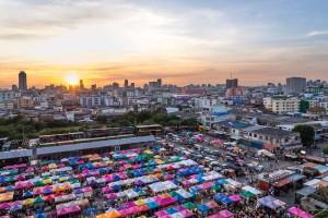Bangkok Thailand Markt SELECDIA TRAVEL Spezialisten für Reisen nach Thailand